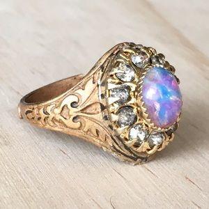 SOLD Vintage opal ring